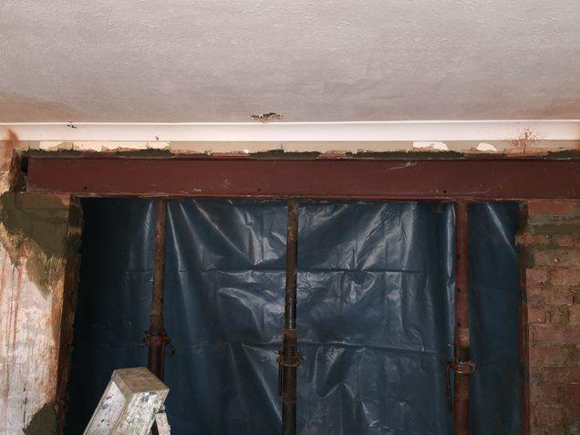 RSJ Steel Beam Installation   Steel beam fitters   Wall removal   RSJ steel beams