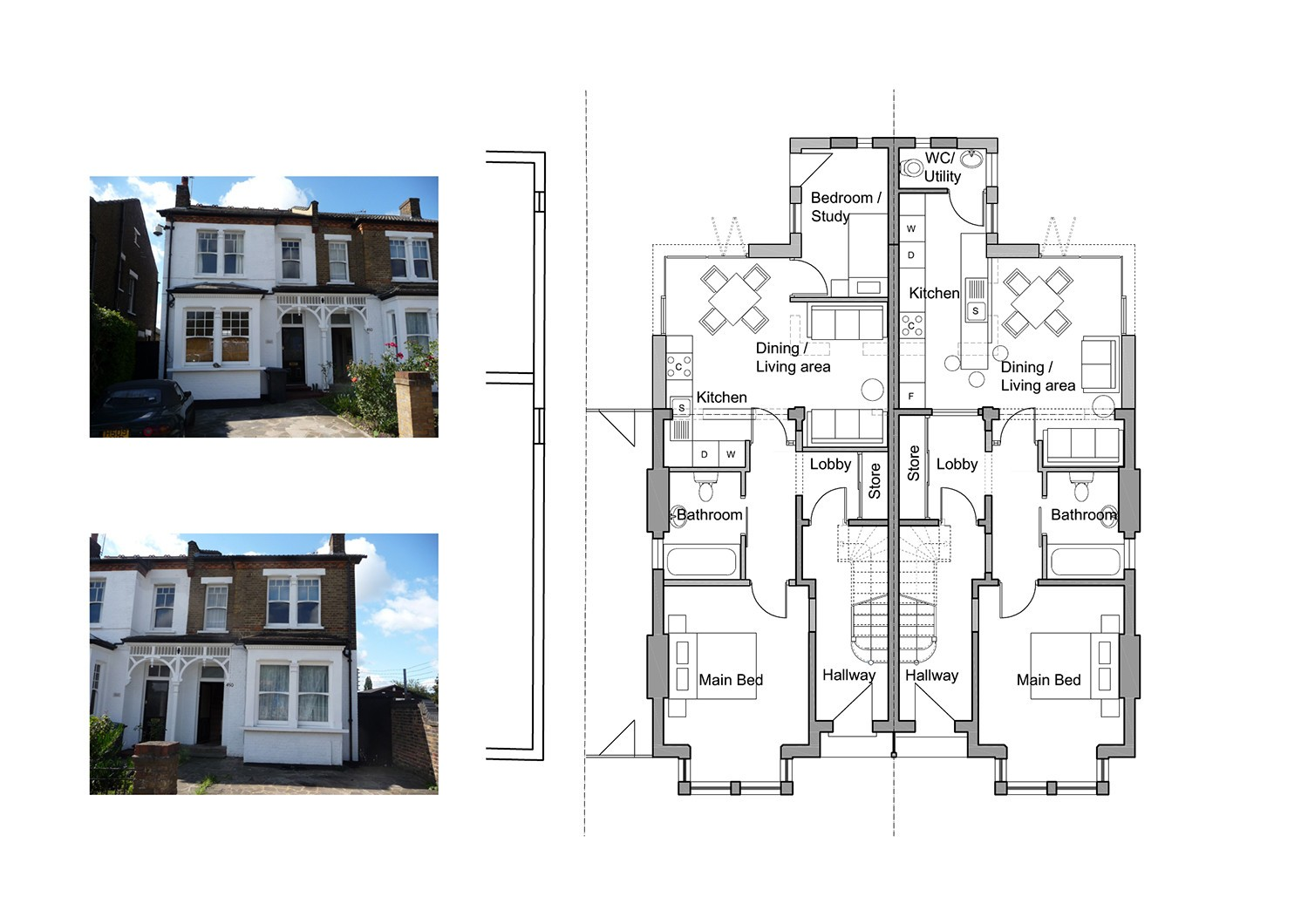 Design and Build London - Building Contractor Plans