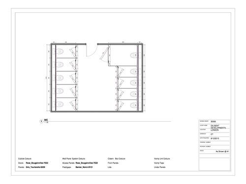 Washroom Cubicle Design