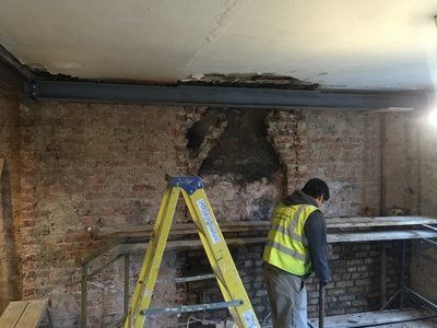 how to remove a chimney breast