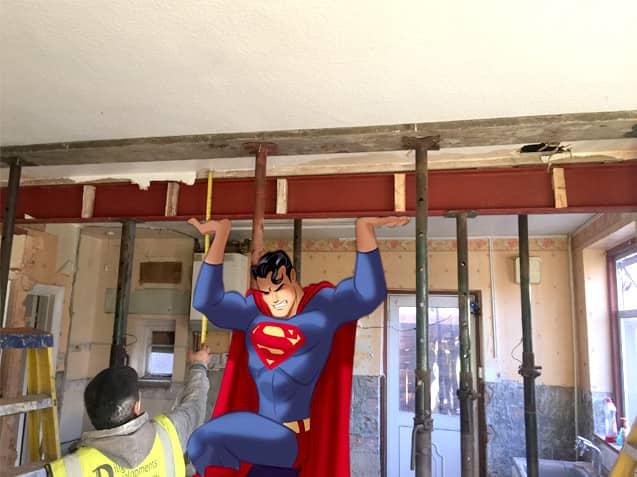 Steel Beam Installation Shirely Croydon