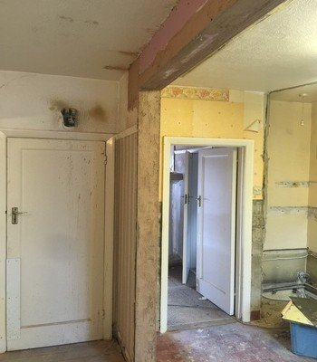 Removal of the Load Bearing Rear Wall