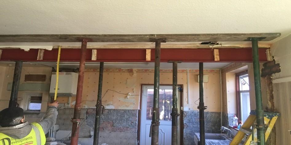 Steel Beam Installation Croydon Shirley