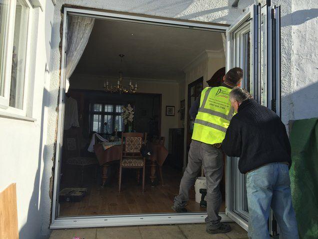 bi fold door fitters london