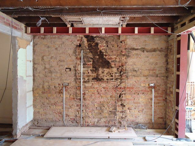Removing Chimney Building Control