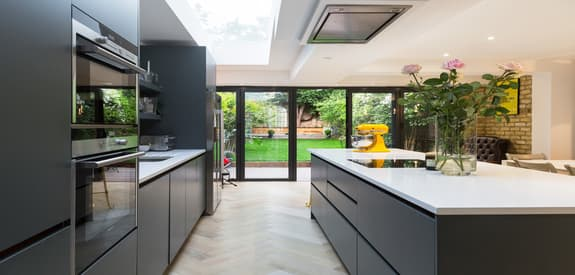 Kitchen Fitter Spacious Dining Area - House Extensions
