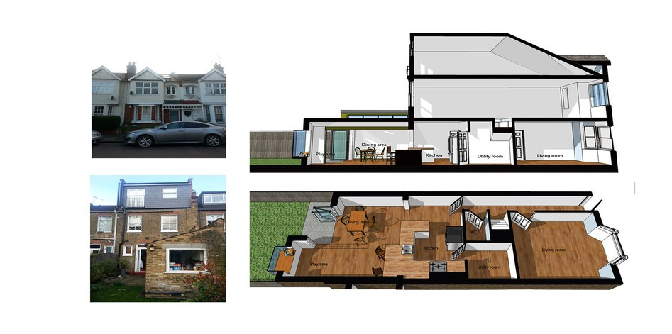 Home Extension Design London