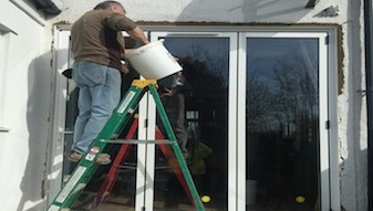 Supply and installation of external bi fold doors.- Croydon, SW16