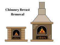 Chimney stack and breast removal chimney breast removal costs - Tel: 0845 052 3769 62 Bensham Grove, Thornton Heath, London, UK CR7 8DB