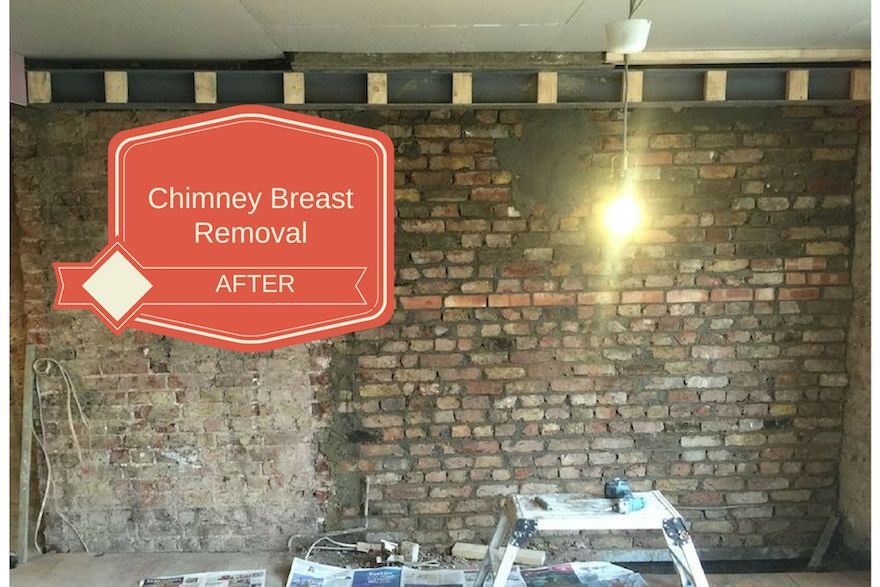 Chimney breast removal in London Chimney removal costs - Tel: 0845 052 3769 62 Bensham Grove, Thornton Heath, London, UK CR7 8DB