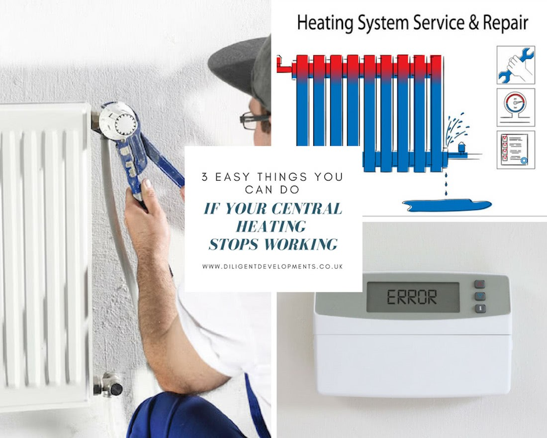 3 Easy Things You Can DoIf Your Central Heating Stops Working