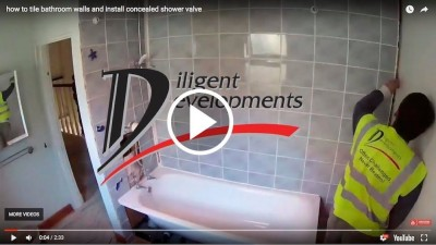 Concealed Shower Valve Installation