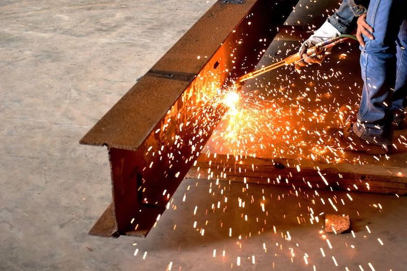 steel beams for residential construction