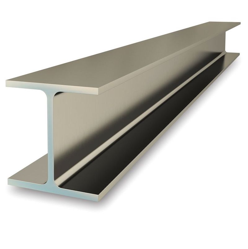 metal support beam for installing steel beam load bearing wall