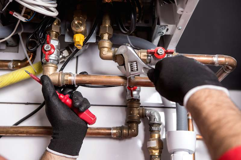 gas central heating installation in London