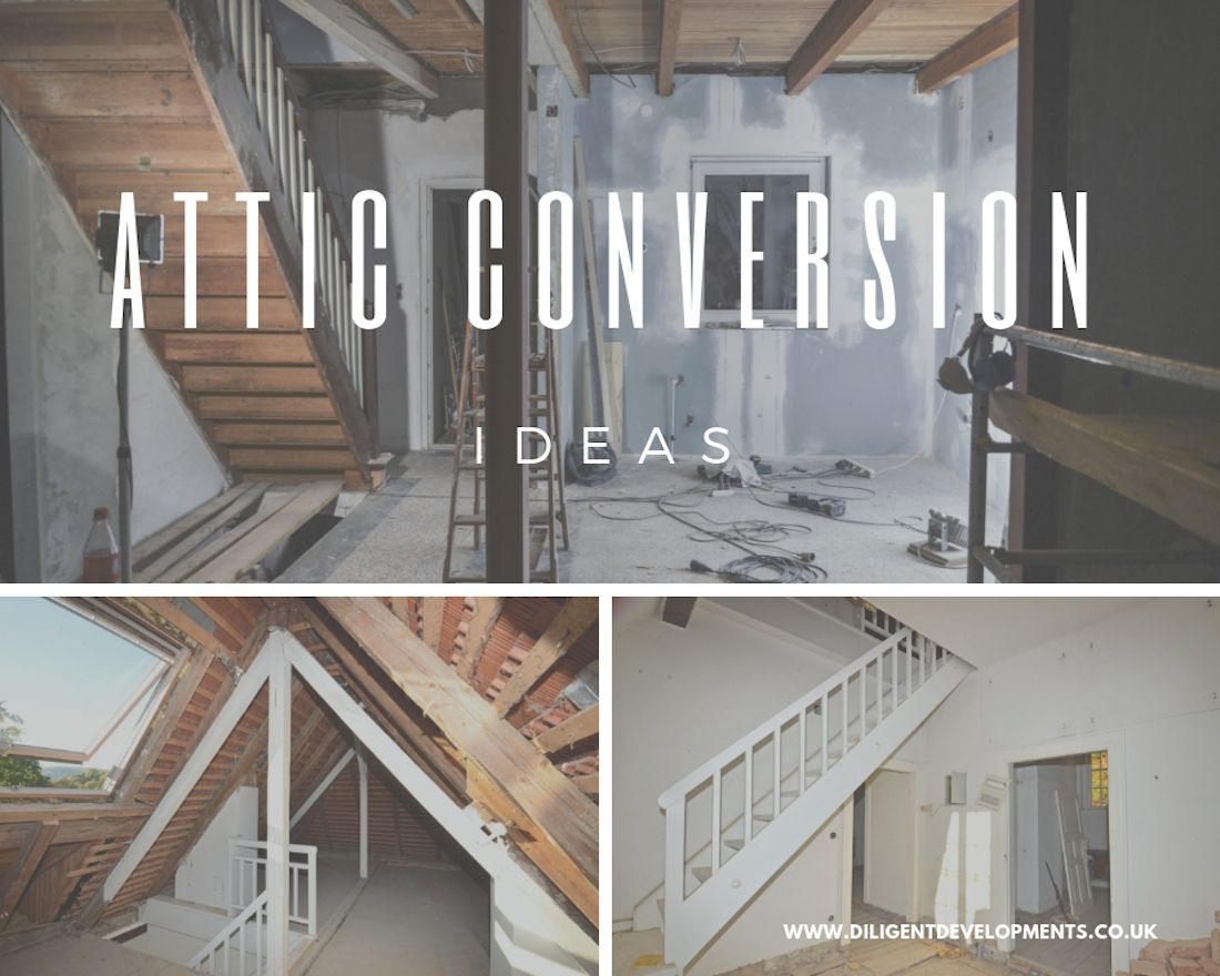2 Amazing Stairs To Attic Conversion Ideas You Can Use