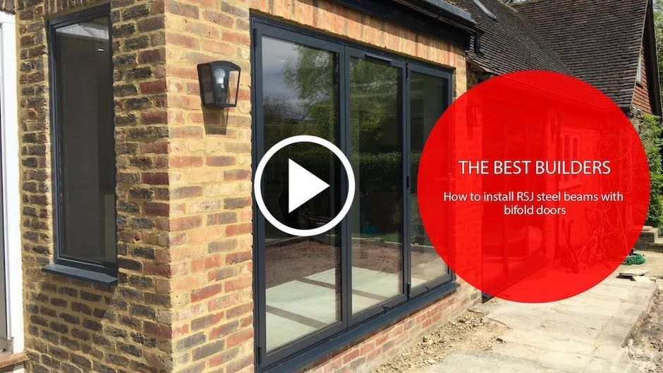 How To Install RSJ Steel Beams With Bifold Doors