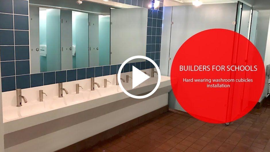 Washroom Cubicle Installation Video