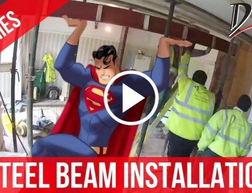 How To Remove Load Bearing Wall With RSJ Steel Beams