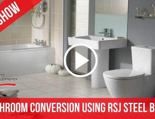 Bathroom Conversion using RSJ Steel Beam