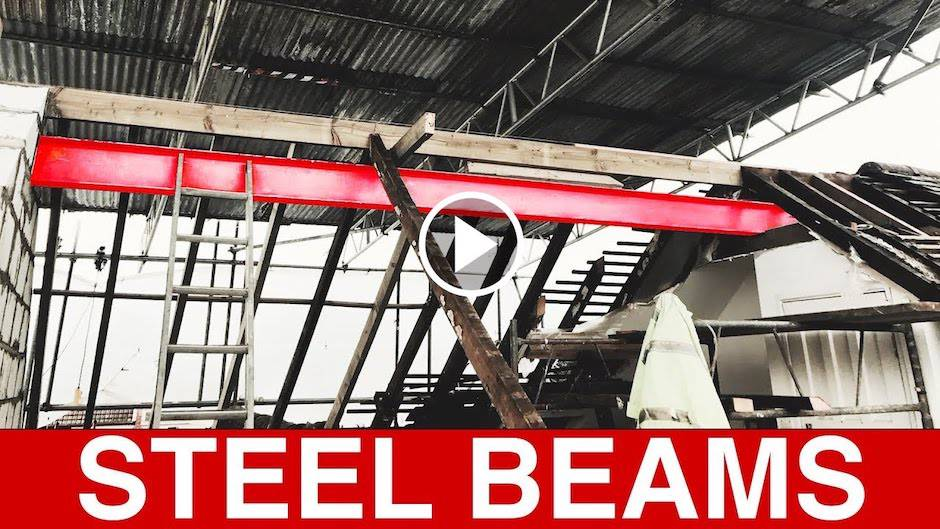 How To Customize Home With Steel Beams