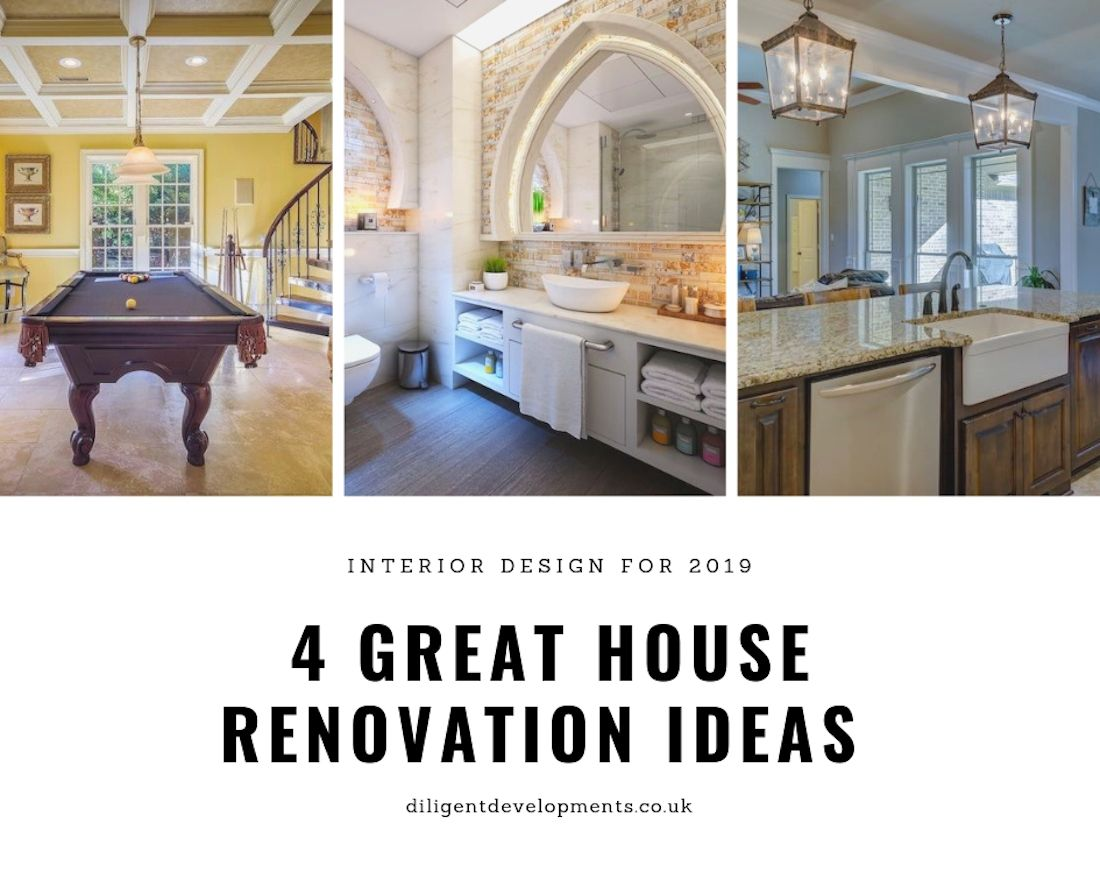 4 Great House Renovation Ideas