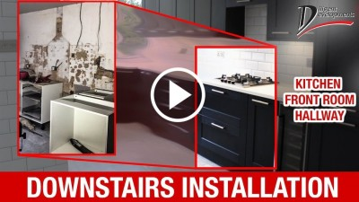 How To Renovate A Kitchen - Hallway And Front Room