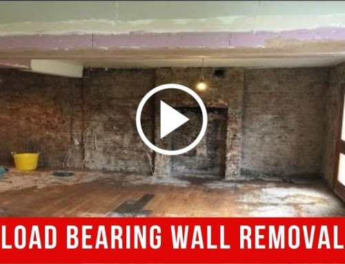 How to Remove Load Bearing Wall and Install Steel Box Frame