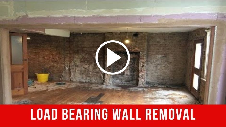 How to Remove Internal Load Bearing Wall