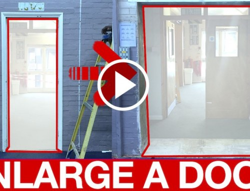 How to Extend a Door with a Steel Beam