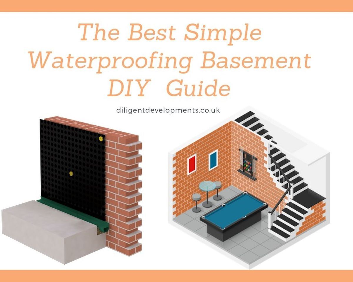 Best Simple Waterproofing Basement Do It Yourself Guide