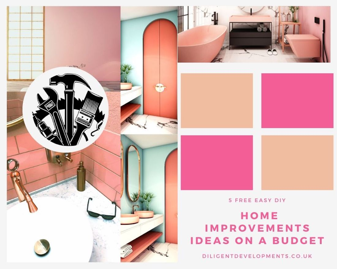5 Free Easy Do It Yourself Home Improvements Ideas on a Budget
