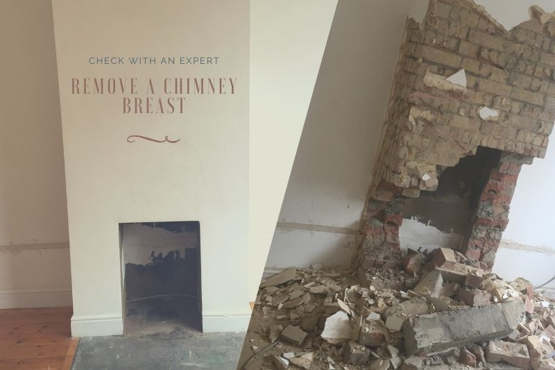 Chimney Removal in 2 Steps