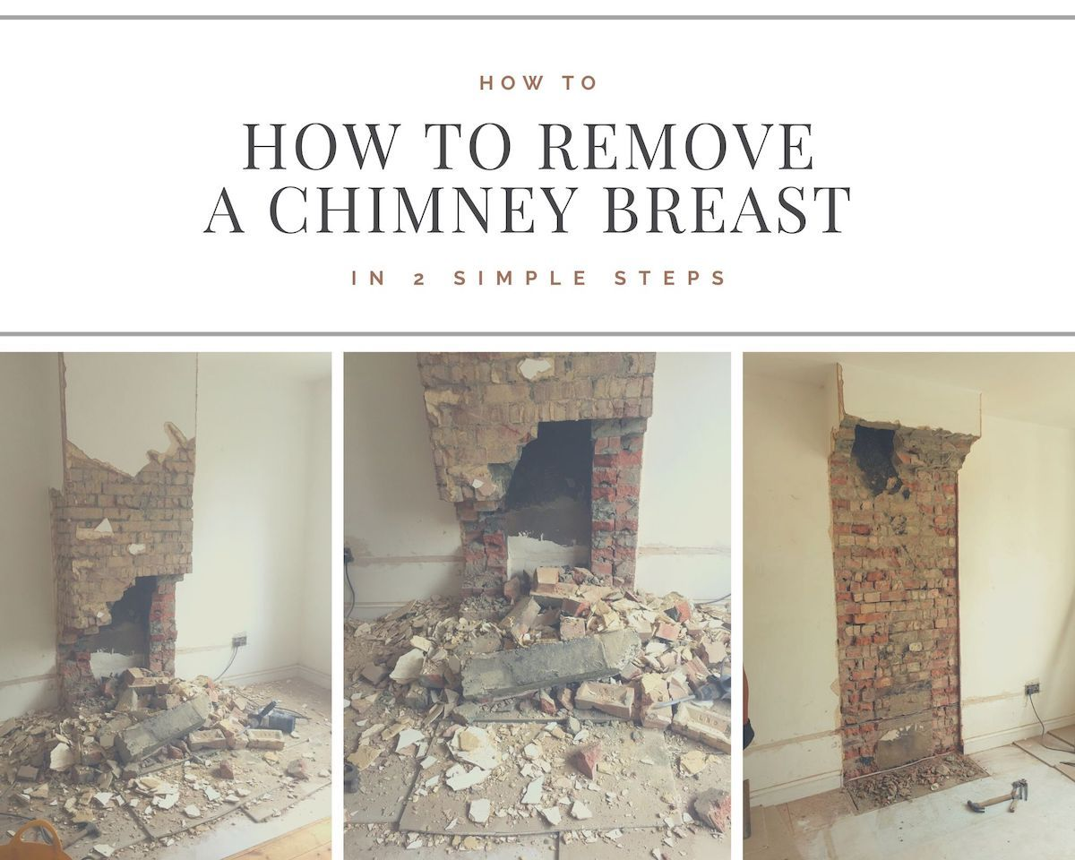 How to Remove a Chimney Breast in 2 Simple Steps