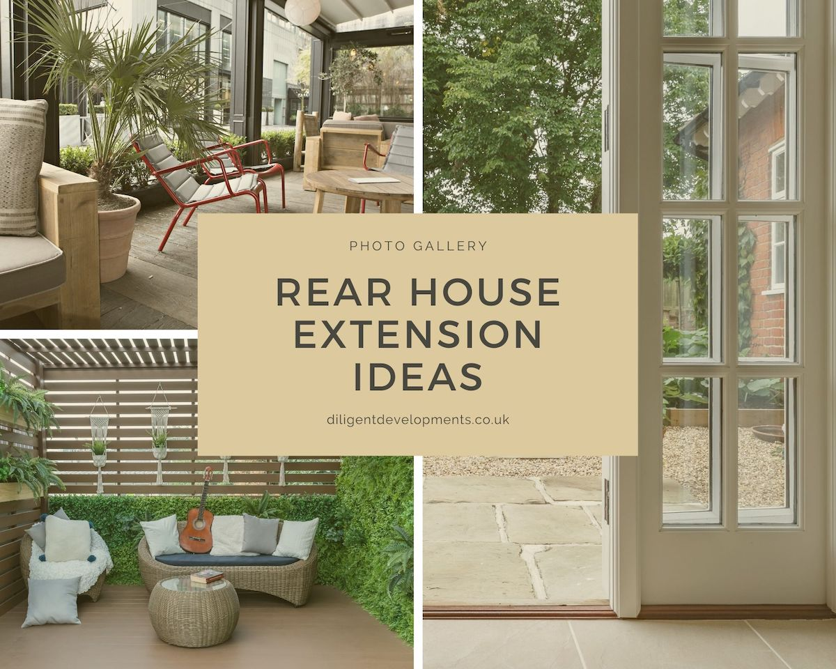 Rear House Extension Ideas Photo Gallery