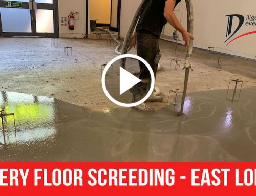 Nursery Floor Screeding – East London