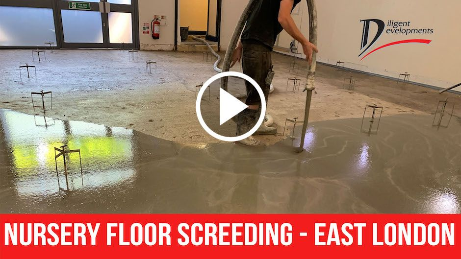 Nursery Floor Screeding - East London