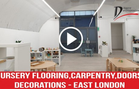 Nursery Flooring, Carpentry, Doors, Decorations- East London
