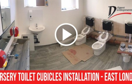Nursery Toilet Cubicles Installation