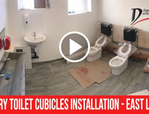 Nursery Toilet Cubicles Installation – East London