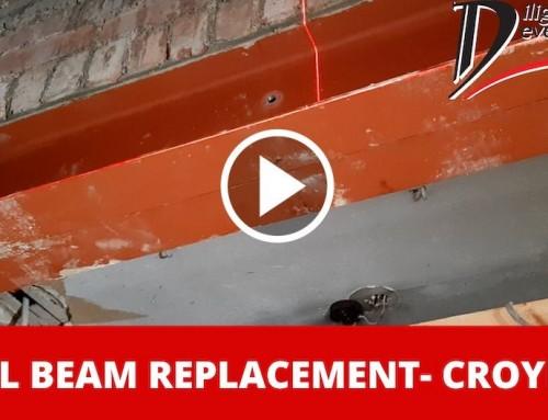 RSJ Steel Beam Replacement – Croydon