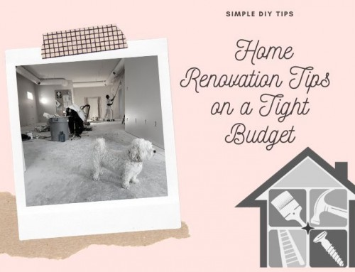 Simple DIY Home Renovation Tips on a Tight Budget
