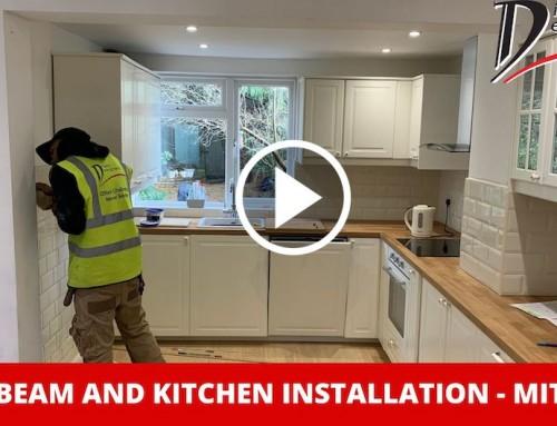 Steel Beam and Kitchen Installation – Mitcham