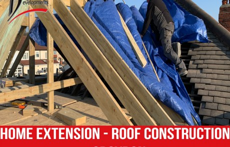 Home extension   Roof construction in Croydon from Diligent Development Builders