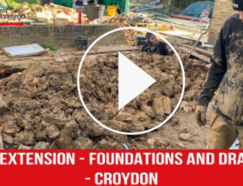 Home Extension | Foundations and Drainage | Croydon