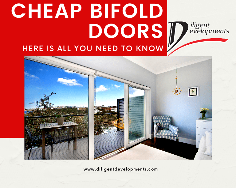 Cheap Bifold Doors - All the things you need to know by Diligent Development Experts