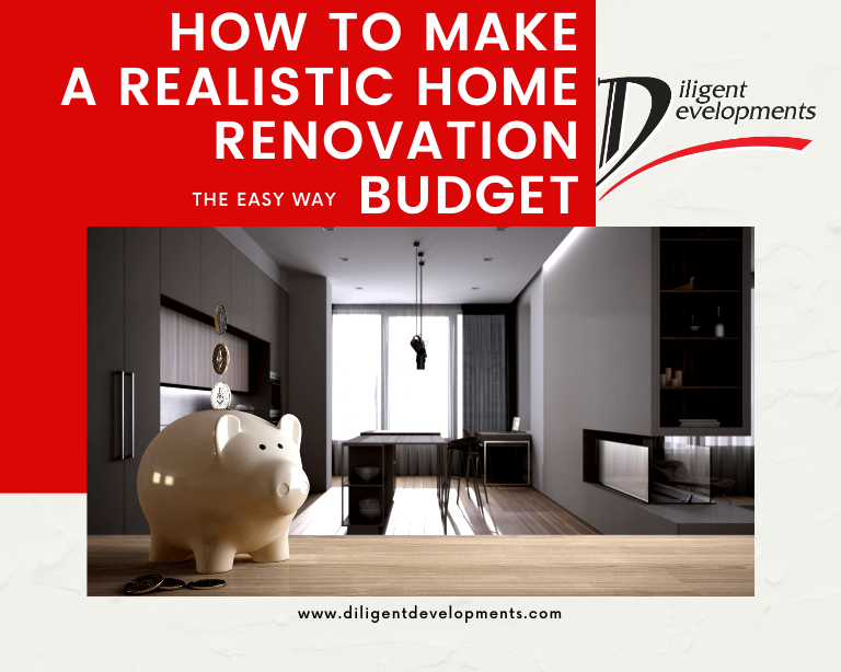 How to make a realistic home renovation budget the easy way