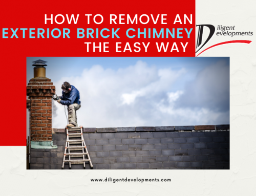 How to Remove an Exterior Brick Chimney The Easy Way