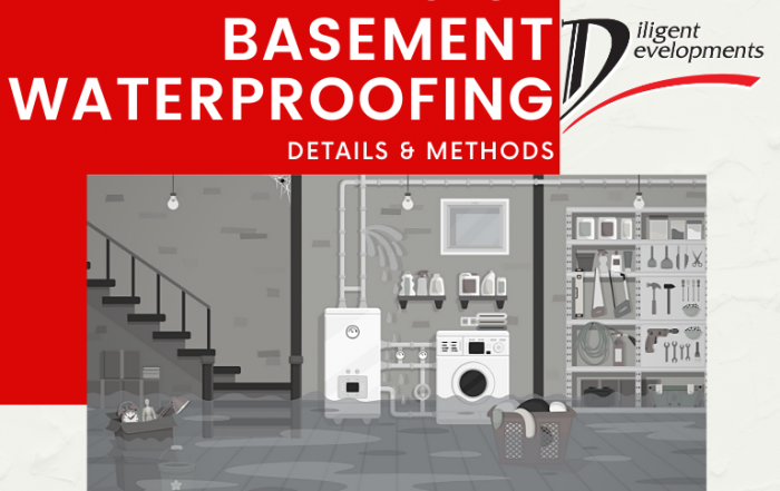 Types of Basement Waterpoofing and Basement Tanking based on Diligent Developments experts in London