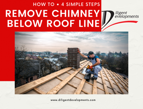 How to Remove Chimney Below Roof Line in 4 Simple Steps